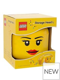 LEGO Storage Head – Girl Character Best Price, Cheapest Prices