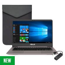 Asus Zenbook 14 Inch i3 4GB 256GB Laptop Bundle Best Price, Cheapest Prices
