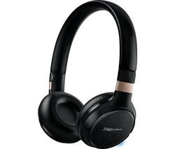 PHILIPS SHB9250/00 Wireless Bluetooth Headphones - Black Best Price, Cheapest Prices