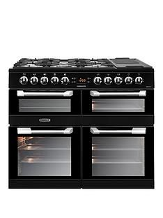 Leisure CS100F520K Cusinemaster 100cm Dual Fuel Range Cooker with Optional Connection - Black Best Price, Cheapest Prices