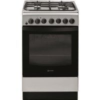 INDESIT IS5G4PHSS 50cm Single Oven Dual Fuel Cooker - Stainless Steel Best Price, Cheapest Prices
