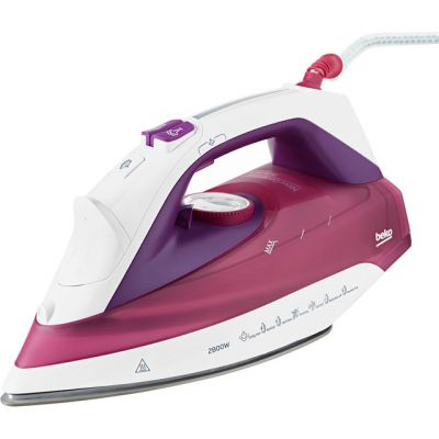 Beko SPM7128P 2800 Watt Iron -Pink Best Price, Cheapest Prices