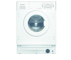 INDESIT IWML 722 Integrated 7 kg 1200 Spin Washing Machine Best Price, Cheapest Prices