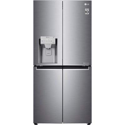 LG GML844PZKV Wifi Connected American Fridge Freezer - Steel - A+ Rated Best Price, Cheapest Prices