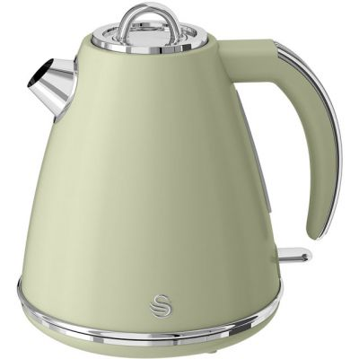 Swan Retro SK19020GN Kettle - Green Best Price, Cheapest Prices