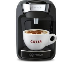 TASSIMO by Bosch Suny Coffee Machine - Black Best Price, Cheapest Prices