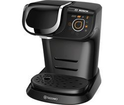 TASSIMO by Bosch My Way TAS6002GB Coffee Machine - Black Best Price, Cheapest Prices