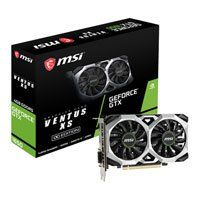 MSI GeForce GTX 1650 VENTUS XS OC 4GB GDDR5 Graphics Card, 896 Core, 1485MHz GPU, 1740MHz Boost Best Price, Cheapest Prices