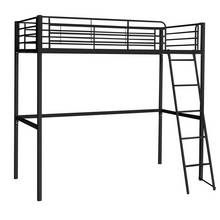 Argos Home Riley Black High Sleeper Bed Frame Best Price, Cheapest Prices