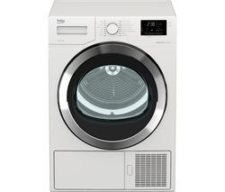 BEKO Pro DHX93460W 9 kg Heat Pump Tumble Dryer - White Best Price, Cheapest Prices