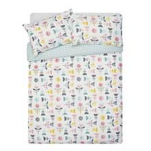 HOME Lola Modern Floral Bedding Set - Kingsize Best Price, Cheapest Prices