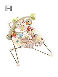 Fisher-Price Woodsy Friends Comfy Time Bouncer Best Price, Cheapest Prices