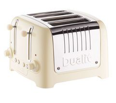 DUALIT DL4C 4-Slice Toaster - Cream Best Price, Cheapest Prices
