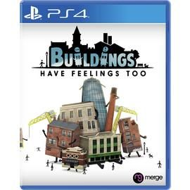 Buildings Have Feelings Too PS4 Pre-Order Game Best Price, Cheapest Prices