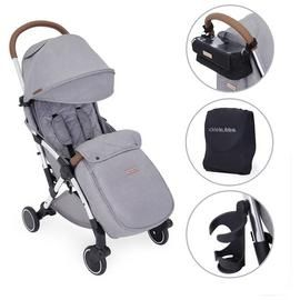 Ickle Bubba Globe Prime Stroller - Grey on Silver Best Price, Cheapest Prices