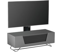 ALPHASON Chromium 2 Cantilever CRO2-1000BKT-GR 1000 mm TV Stand with Bracket - Grey Best Price, Cheapest Prices
