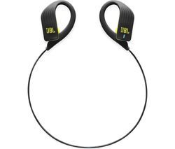 JBL Endurance Sprint Wireless Bluetooth Headphones - Black & Lime Best Price, Cheapest Prices