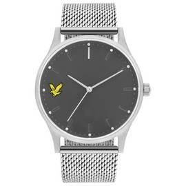 Lyle and Scott Men's Grey Mesh Bracelet Watch Best Price, Cheapest Prices