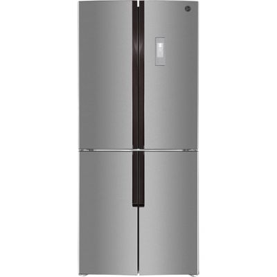 Hoover HFDN180XK American Fridge Freezer - Stainless Steel - A+ Rated Best Price, Cheapest Prices