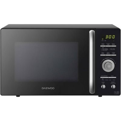 Daewoo KOR9GQRR 26 Litre Microwave - Black Best Price, Cheapest Prices