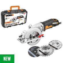 WORX WX429 Mini Saw with 3 Blades – 400W Best Price, Cheapest Prices