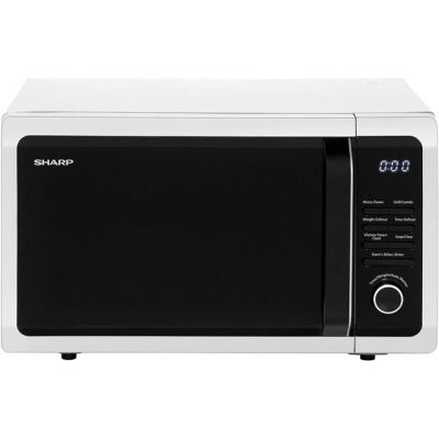 Sharp R764SLM 25 Litre Microwave With Grill - Silver Best Price, Cheapest Prices
