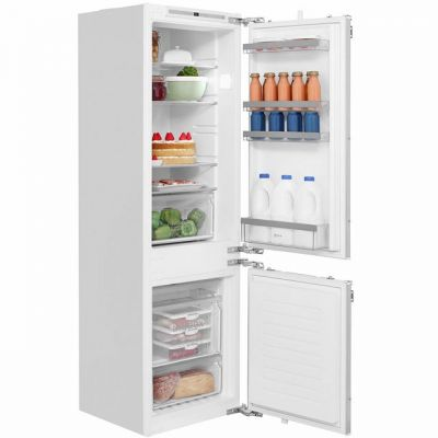 NEFF N50 KI7862F30G Integrated 60/40 Frost Free Fridge Freezer with Fixed Door Fixing Kit - White - A++ Rated Best Price, Cheapest Prices
