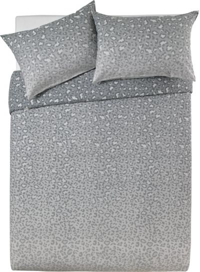 Argos Home Leopard Ombre Bedding Set - Kingsize Best Price, Cheapest Prices
