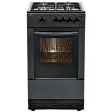 Bush AG56SB Gas Cooker - Black