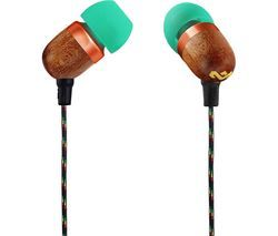 HOUSE OF MARLEY Smile Jamaica Headphones - Rasta Best Price, Cheapest Prices