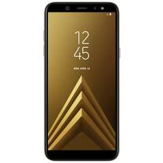 SIM Free Samsung Galaxy A6 32GB Mobile Phone - Gold Best Price, Cheapest Prices
