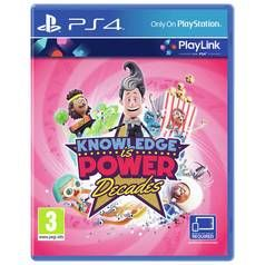 Knowledge is Power: Decades PS4 Game Best Price, Cheapest Prices