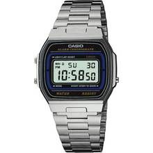 Casio Men's LCD Chronograph Silver Stainless Steel Watch Best Price, Cheapest Prices