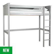 Argos Home Brooklyn Grey High Sleeper Bed Frame Best Price, Cheapest Prices