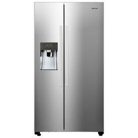 Hisense RS696N4IC1 American Fridge Freezer - Stainless Steel Best Price, Cheapest Prices
