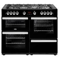 Belling Cookcentre 110G 110cm Gas Range Cooker in Black 444444101 Best Price, Cheapest Prices