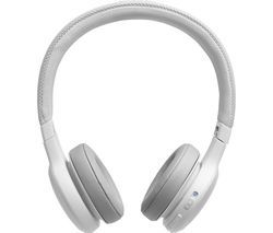 JBL Live 400BT LIVE400BTWHT Wireless Bluetooth Headphones - White Best Price, Cheapest Prices