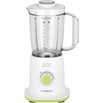 Kenwood BL237WG 0.8 Litre Blender with 3 Accessories - White / Green Best Price, Cheapest Prices