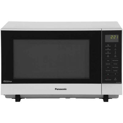 Panasonic NN-SF464MBPQ 27 Litre Microwave - Silver Best Price, Cheapest Prices