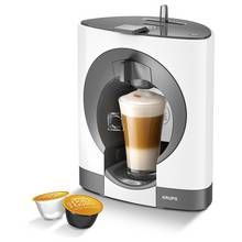 NESCAFE Dolce Gusto Oblo Manual Coffee Machine - White Best Price, Cheapest Prices
