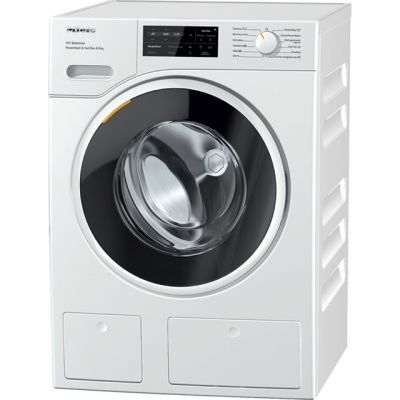 Miele W1 WSI863 Wifi Connected 9Kg Washing Machine with 1600 rpm - White - A+++ Rated Best Price, Cheapest Prices