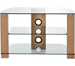 TTAP Vision 800 TV Stand - Light Oak Best Price, Cheapest Prices