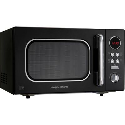 Morphy Richards Evoke 511510 23 Litre Microwave - Black Best Price, Cheapest Prices