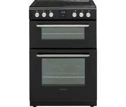 KENWOOD KDC606B19 60 cm Electric Ceramic Cooker - Black Best Price, Cheapest Prices