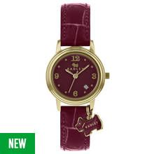 Radley Ladies' Darlington RY2008 Purple Leather Strap Watch Best Price, Cheapest Prices