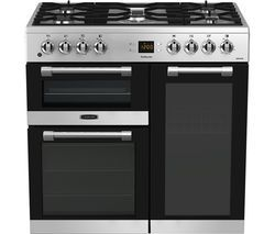 LEISURE CK90F530X 90 cm Dual Fuel Range Cooker - Stainless Steel & Chrome Best Price, Cheapest Prices