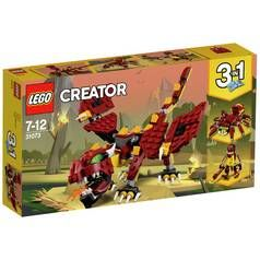 LEGO Creator Mythical Creatures Dragon Toy Set - 31073 Best Price, Cheapest Prices
