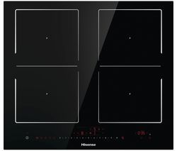 HISENSE I6456C Electric Induction Hob - Black Best Price, Cheapest Prices