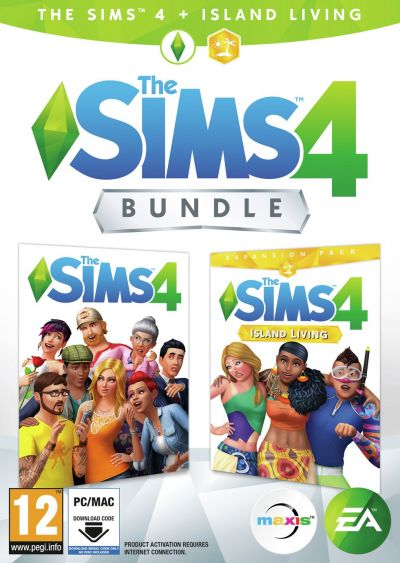 The Sims 4 & Island Living Expansion Pack PC Game Bundle Best Price, Cheapest Prices