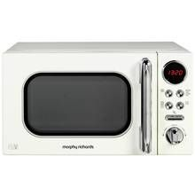Morphy Richards Evoke Cream Microwave 20L Solo 800w 511501 Best Price, Cheapest Prices